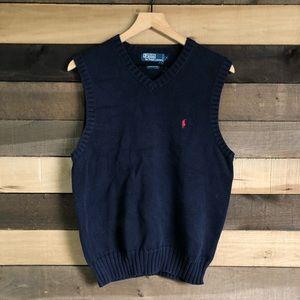 Polo Ralph Lauren Blue Men's Sweater Vest size M